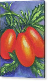 Tomato Seed Packet Acrylic Print