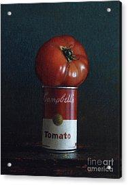 Tomato Soup Acrylic Print by Larry Preston