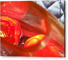 Tomatoe Red Acrylic Print