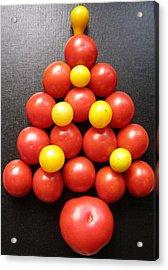 Tomatoe Tree Acrylic Print by Jeanette Oberholtzer