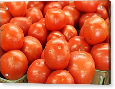 Tomatoes 247 Acrylic Print by Michael Fryd