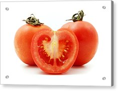Tomatoes Acrylic Print by Fabrizio Troiani