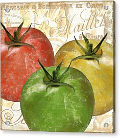 Tomatoes Tomates Acrylic Print