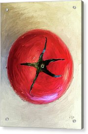 Tomato Acrylic Print by Lois Bryan