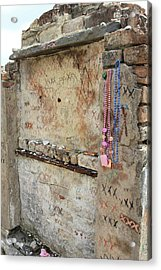 Tomb Of The Unknown Voodoo Priestess Acrylic Print