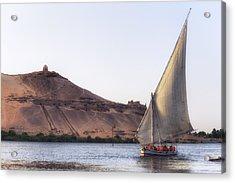Tombs Of The Nobles - Egypt Acrylic Print by Joana Kruse