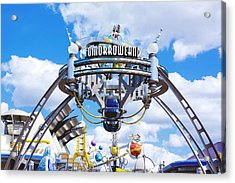 Tomorrowland Acrylic Print by Greg Fortier
