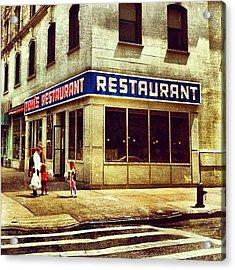 Tom's Restaurant. #seinfeld Acrylic Print