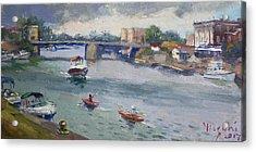 Tonawandas Gateway Harbor Acrylic Print