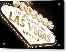 Tonight In Vegas Acrylic Print