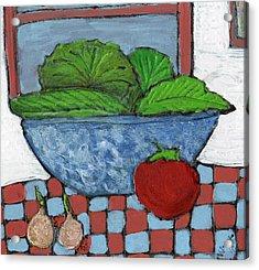 Tonight's Salad Acrylic Print