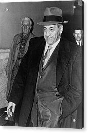 Tony Accardo, Successor Of Al Capone Acrylic Print by Everett