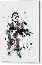 Tony Montana Acrylic Print