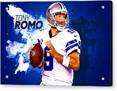 Tony Romo Acrylic Print
