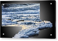 Too Big For The Frame Acrylic Print by Allan Levin