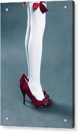 Too Big Shoes Acrylic Print by Joana Kruse