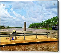 Too Hot To Fish Acrylic Print