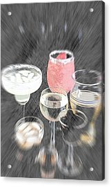 Acrylic Print featuring the photograph Too Many To Drive by Sherry Hallemeier