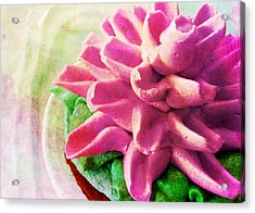 Too Pretty To Eat Acrylic Print by JAMART Photography