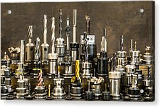Toolmakers Cutting Tools Acrylic Print