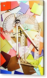 Tools Of Architectural Design Acrylic Print