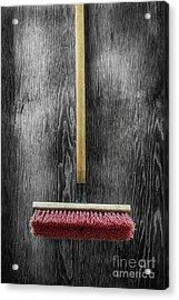 Tools On Wood 14 On Bw Acrylic Print by YoPedro