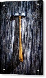 Tools On Wood 19 Acrylic Print by Yo Pedro