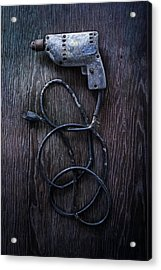 Tools On Wood 27 Acrylic Print