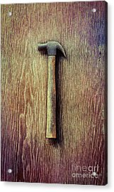 Tools On Wood 53 Acrylic Print