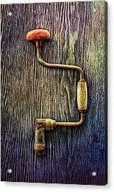 Tools On Wood 58 Acrylic Print