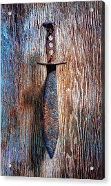 Tools On Wood 75 Acrylic Print