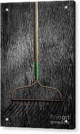 Tools On Wood 8 On Bw Acrylic Print by YoPedro