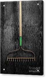 Tools On Wood 9 On Bw Acrylic Print by YoPedro