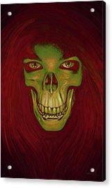 Toothy Grin Acrylic Print