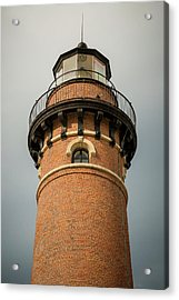 Acrylic Print featuring the photograph Top Of Little Sable Point Lighthouse by Adam Romanowicz