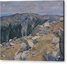 Top Of Mt. Princeton Acrylic Print