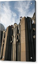 Top Of The City Acrylic Print by Jeff Porter