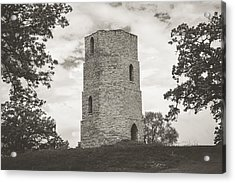 Acrylic Print featuring the photograph Top Of The Hill by Viviana  Nadowski