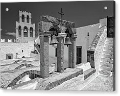 Top Of The Monastery Acrylic Print by Inge Johnsson