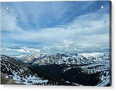 Top Of The Rockies Acrylic Print