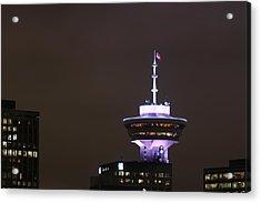 Top Of Vancouver Restaurant Acrylic Print