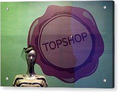 Top Shop Top Me Acrylic Print by Jez C Self
