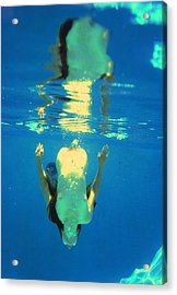 Nude Topaz Acrylic Print by Randy Sprout