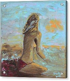 Topless Beach Acrylic Print