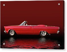 Topless Galaxie Acrylic Print by Bill Dutting