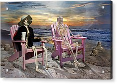 Topsail Tales Acrylic Print