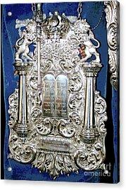 Torah Breast Plate 2 Acrylic Print