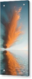Torch Of Freedom Acrylic Print by Jerry McElroy