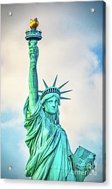 Acrylic Print featuring the photograph Torch Of Liberty by Nick Zelinsky