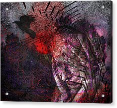 Torment Acrylic Print by Mimulux patricia no No